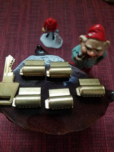 5 OEM American 5 pin Padlock Cylinder 2keys APTC12