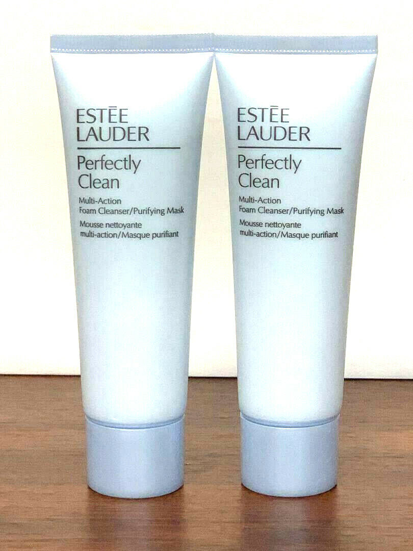 2x Estee Lauder PERFECTLY CLEAN Multi-Action Foam Cleanser M