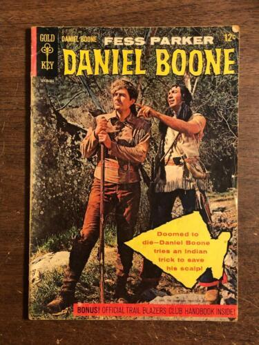 Daniel Boone #1 Gold Key Comics 1964 TV Comic Fess Parker