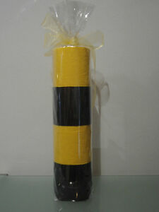 Geschenkidee WC Papier Toilettenpapier   Klopapier farbig bunt gelb schwarz