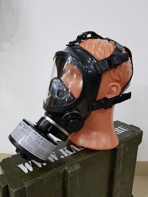 Panoramic Gas Mask Respirator Briz-4301m Ppm Complete With Filter. New