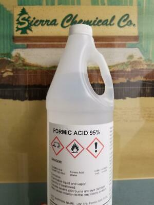 Formic Acid 95 - 1 Gallon - Bee Keeping 4 Quarts