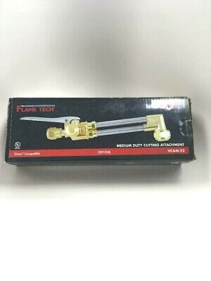 Flame Tech Vcam-22 Medium Duty Oxy-fuel Cutting Torch Attachment - Victor Style