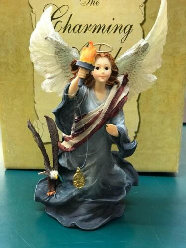 """Boyds Charming Angel """"Liberty...Guardian of Freedom"""" 4017963*New in Box*"""