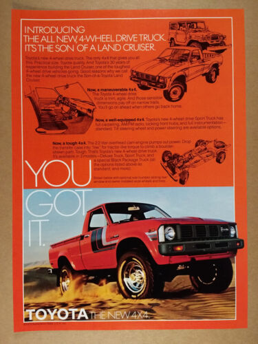 1979 Toyota 4WD Pickup Truck