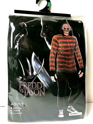 Halloween Costume Adult  FREDDY KRUEGER size Large from Freddy vs Jason ()