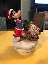 Schmid Disney Music Box Goofy 1990 Christmas   eBay