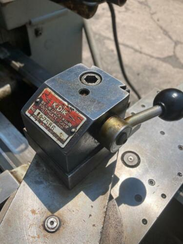 """KDK  Series Quick Change Lathe Tool Post FITS 9"""" TO 13"""" LATHES"""