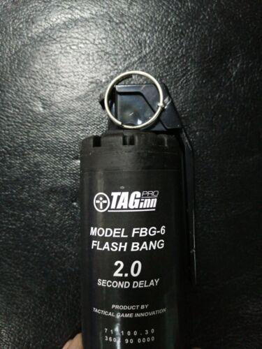 TAGINN FBG-6 Flasbang grenades set x6 pcs WARGAME TOYS NEW GEN 2 seconds delay