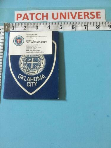 OFFICIAL BOOKLET OKLAHOMA CITY  INCLUDES  PATCH  G005