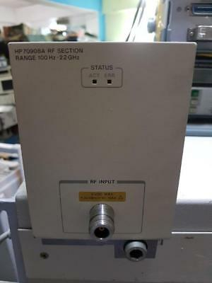 Agilent Hp 70908a Spectrum Analyzer Rf Section 100 Hz - 22ghz
