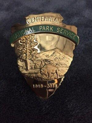 2016 NPS National Park Service Ranger Centennial Badge  - NOT LAW ENFORCEMENT
