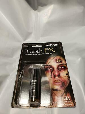 Tooth NICOTINE Tooth FX Mehron Paint for Theatrical Use on Teeth USA (Tooth Paint)