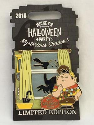 Disneyland Mickeys Halloween Party (Disneyland Mickey's Halloween Party 2018 Pin Mysterious Shadows Russell LE)