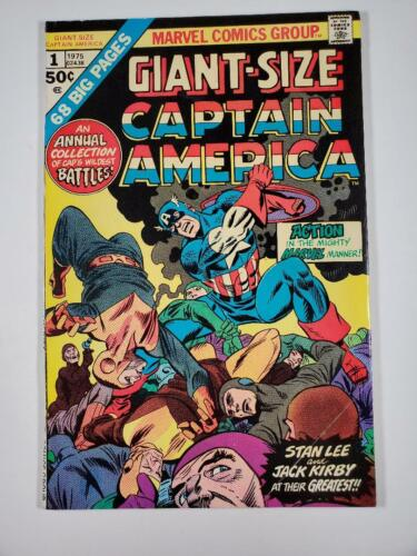 Giant-Size Captain America #1 Stan Lee and Jack Kirby