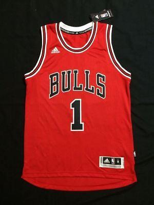 NBA Chicago Bulls Derrick Rose #1  Swingman Jersey Vest  Red Derrick Rose Jersey