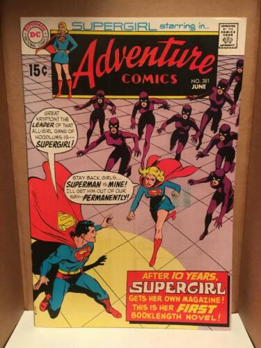 Adventure Comics 381 - First full-length Supergirl story and her first solo book