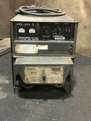 Lincoln Idealarc Dc-600 Arc Welder Power Source Cvcc Dc Multi-process Switch