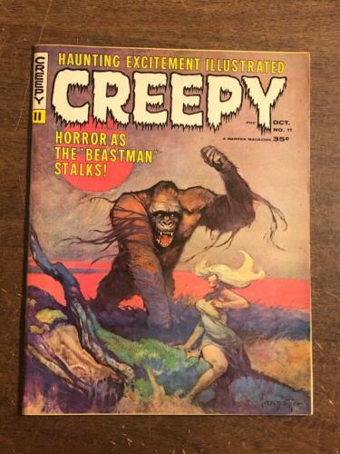 Creepy #11 Comic Magazine 1966 by Warren Comics