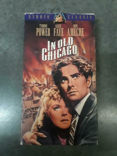In Old Chicago, 1938 ‧ Romance/Drama, Tyrone Power, Alice Faye, VHS