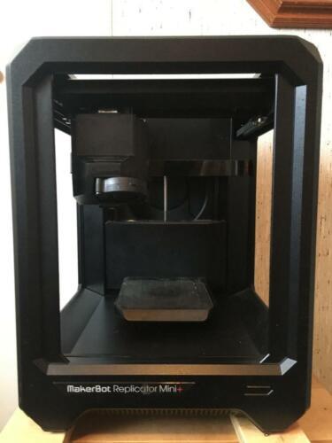 MakerBot Replicator Mini+  1) Experimental Extruder & 2) Smart Extruders