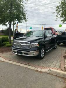 2017 Ram 1500 LARIME CREW|SUNROOF|LEATHER|BEDLINER|TONNEAU COVER
