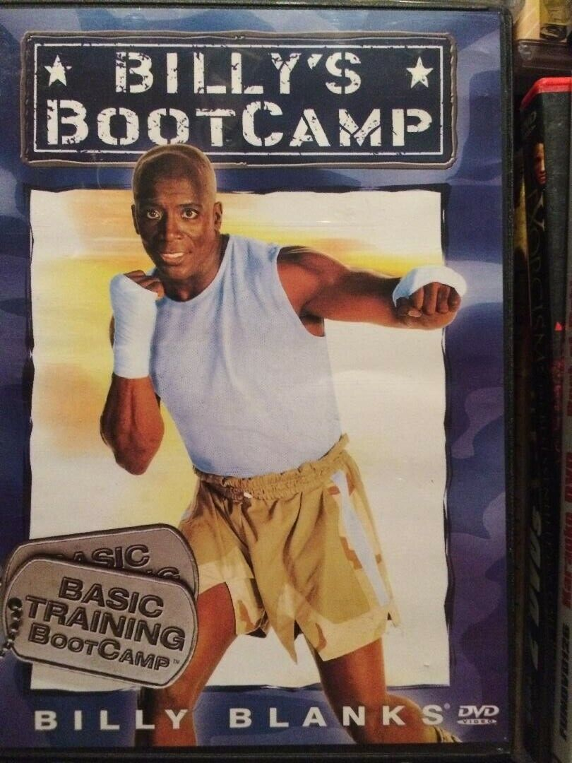 DVD Fitness Billys Bootcamp -  Basic Training