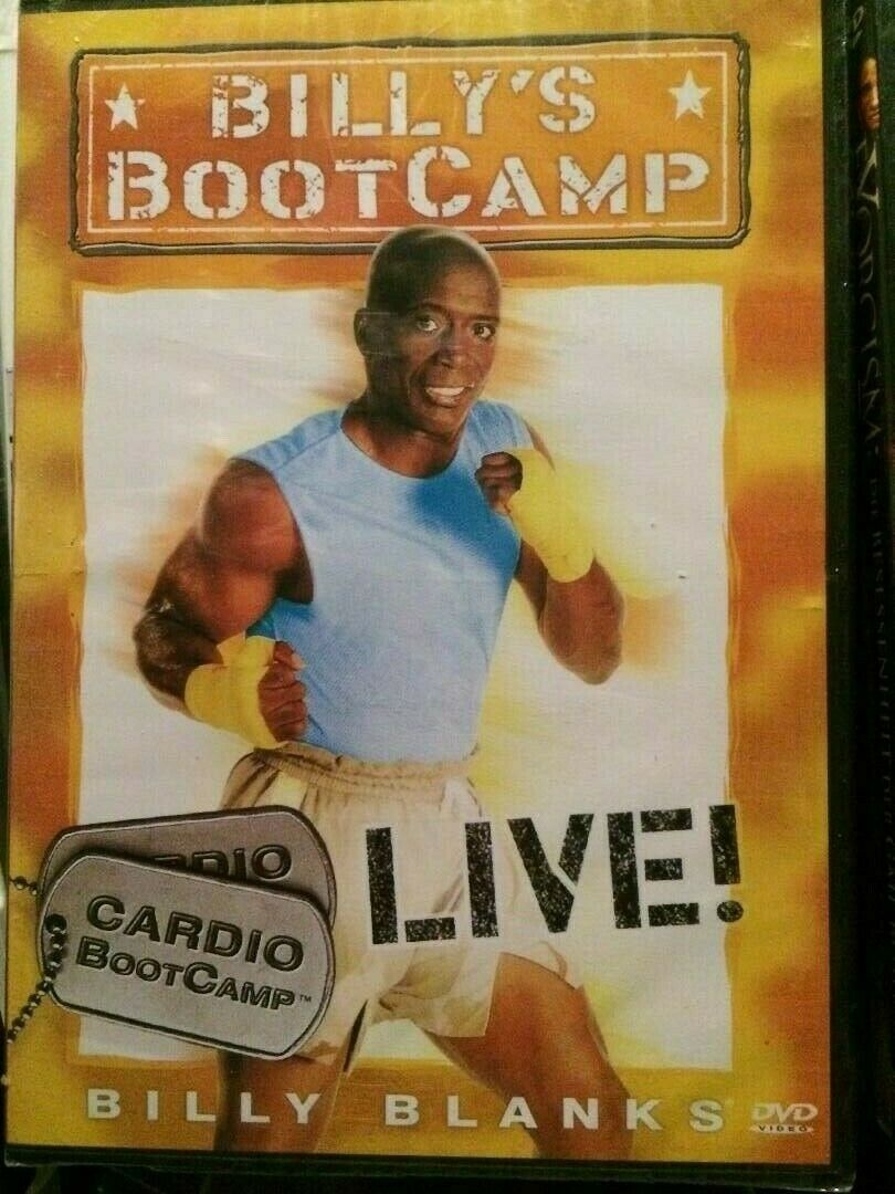 DVD fitness Billys Bootcamp Live cardio