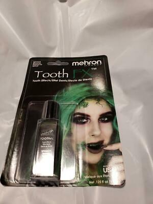Tooth SPINACH Tooth FX Mehron Paint for Theatrical Use on Teeth USA (Tooth Paint)