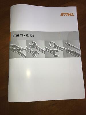 Ts 410 420 Ts410 Ts420 Stihl Cut Off Saw Workshop Service Repair Manual