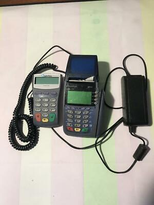 Verifone Omni 3730 V510 Credit Card Terminal Swipe Debit Card Payment