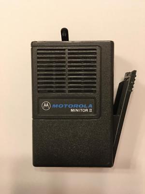 New Oem Motorola Minitor Ii 2 Housing W Battery Door - Gray