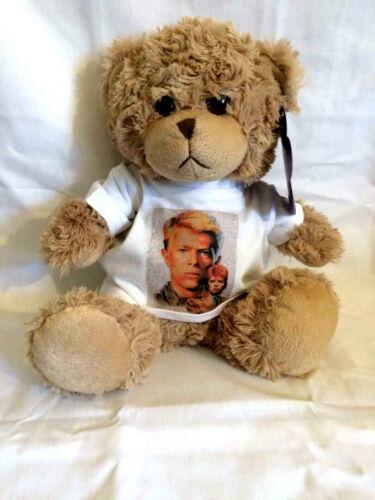 DAVID BOWIE soft and cuddly TEDDY BEAR
