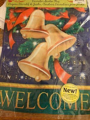 New Christmas Bells Garden Flag