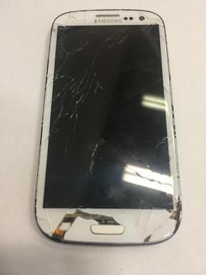 Samsung Galaxy S3 16GB SPH-L710T White - Defective IL  - $10.00