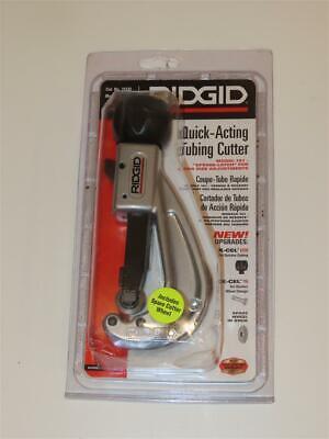 Ridgid 31632 Quick Acting Tubing Cutter Spring Latch Quick Size Adjustment 151