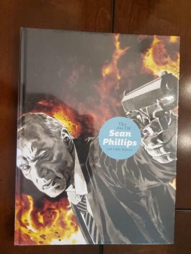 Art of Sean Phillips HC Signed by Sean Phillips Dynamite Factory Sealed