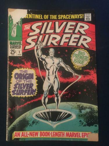 SILVER SURFER #1 (August 1968) Marvel Comics Origin, Around G to G/VG (2.0-3.0)