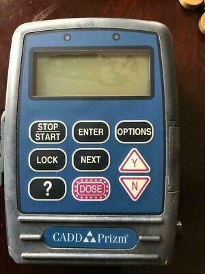 Sims Deltec Cadd Prizm Model 6101 Ambulatory Infusion Iv Pump Shows Error Code