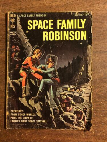 Space Family Robinson #1 Gold Key Comics 1962 TV Comic