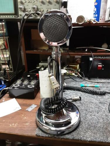 NICE Tested Silver Eagle Astatic D104 Microphone