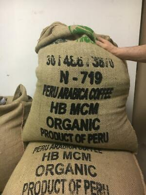 5 Lbs of Organic High Altitude Peru All Natural Green UnRoasted Raw Coffee -