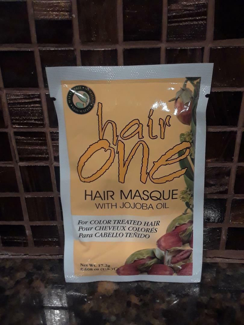 hair masque with jojoba oil