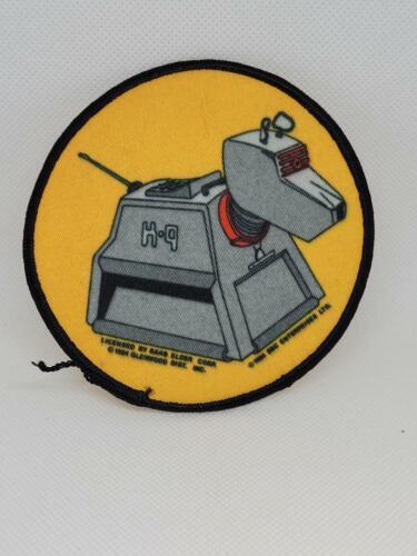 1984 VINTAGE DOCTOR WHO K-9 K9 TOM BAKER ROBOT DOG CLOTH PATCH Nice
