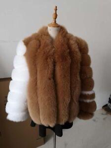Fox fur coat!