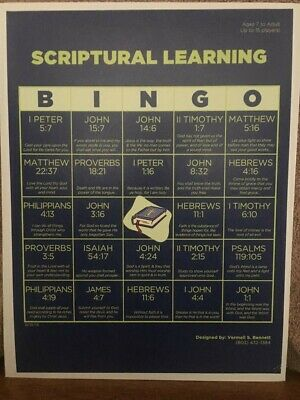 Bible Bingo Game (Scriptural Learning)](Bible Bingo Game)