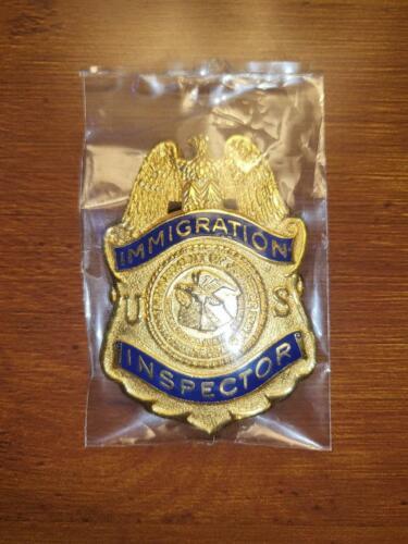 DOJ Immigration Inspector Badge
