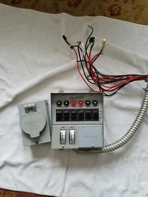 Reliance Protran 31406c Manual Transfer Switch 30a 125250v