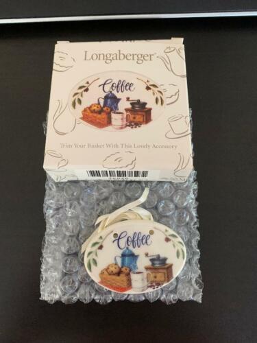Longaberger Coffee Tie On - NIB