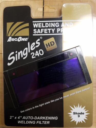 Arc One Shade 9 Welding Lens Fixed Shade Auto Darkening Shade S240